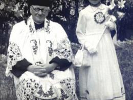 Ks. proboszcz W. Słonina - I Komunia św. w 1968 roku